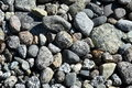 rocks in river water background Royalty Free Stock Photo