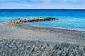 Rocks sea loano s coast italy Royalty Free Stock Photos