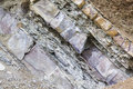 Rocks - section Royalty Free Stock Photo