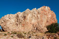 Rocks in village of monteagudo near murcia spain Stock Images
