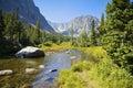 Rockt Mountain Landscape Royalty Free Stock Photo