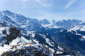 Rocky alps Stock Photos