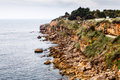 Rocky beach boca de inferno mouth of hell in cascais near lisbon portugal Stock Photos