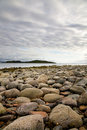 Rocky beach, Scotland Stock Photography
