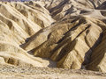 Rocky canyon death valley rock and foothills Royalty Free Stock Images