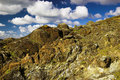 Rocky Cliff Landscape Stock Photography