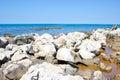 Rocky coast on the Adriatic Sea