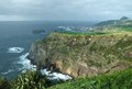 Rocky coastal scenery at the Azores Royalty Free Stock Images