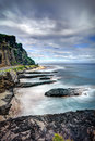 Rocky coastline Stock Images