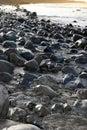 Rocky coastline of a county Kerry beach Royalty Free Stock Photo