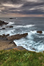 The rocky coasts of northern spain Stock Photography