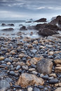The rocky coasts of northern spain Stock Photos
