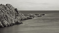 The rocky coasts of northern spain Royalty Free Stock Photography
