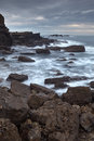 Rocky coasts of northern spain Stock Photos