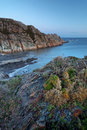 Rocky coasts of northern spain Stock Photography