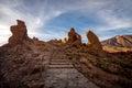 Rocky desert landscape Royalty Free Stock Photo