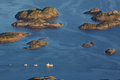 Rocky islands Stock Photos