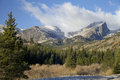 Rocky Mountain in Fall Royalty Free Stock Photos