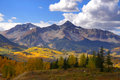 Rocky mountain peaks Royalty Free Stock Images