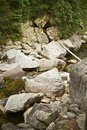 Rocky mountain stream Images libres de droits