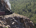 Rocky mountain train Royalty Free Stock Photo
