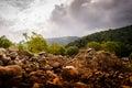 Rocky Natural Landscape