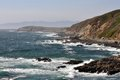 Rocky northern California coast Royalty Free Stock Photos