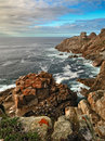 Rocky ocean Coast (Galicia) Royalty Free Stock Photography