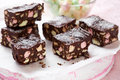Rocky road cake Royalty Free Stock Photography