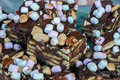 Rocky Road Slices (2) Royalty Free Stock Photography