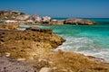 Rocky Tropical Coastline Royalty Free Stock Photo