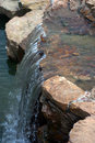 Rocky waterfall Royalty Free Stock Photo
