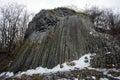 Rocky waterfall near Somoska, Slovakia