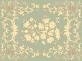 Rococo design Stock Photo