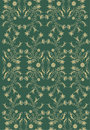 Rococo pattern with gradient Royalty Free Stock Image