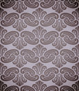Rococo pattern seamless with elements editable layered vector Stock Photography