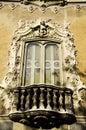 Rococo window Royalty Free Stock Photo