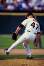 Rod beck san francisco giants former reliever image taken from color slide Stock Photography