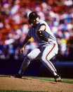 Rod beck san francisco giants former reliever image taken from color slide Stock Photos