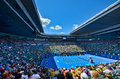 Rod Laver Area during the Australian Open Royalty Free Stock Photo