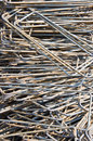 Rod steel for building construction Royalty Free Stock Photo