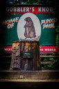 Rodent meteorology the home of famed meteorologist phil at punxsutawney pennsylvania usa Stock Image