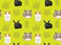 Rodent Pet Seamless Wallpaper 4