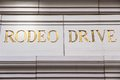 Rodeo Drive Royalty Free Stock Photo