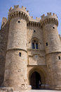 Rodos castle Royalty Free Stock Photo