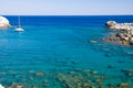 Rodos sea Royalty Free Stock Photo