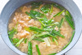Roe soup thai traditional food Royalty Free Stock Photos
