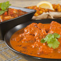 Rogan Josh Indian Curry Royalty Free Stock Photography