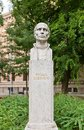 Roger Joseph Boscovich sculpture (1911) in Zagreb, Croatia Royalty Free Stock Photo