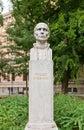 Roger Joseph Boscovich sculpture (1911) in Zagreb, Croatia Royalty Free Stock Photo
